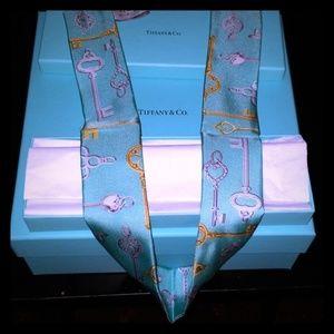 Tiffany & Co key scarf